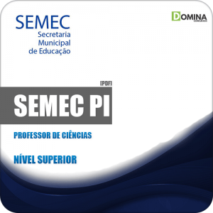 Apostila Concurso Público SEMEC PI 2019 Professor de Ciências