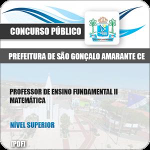 Apostila São Gonçalo Amarante CE 2019 Prof de Matemática