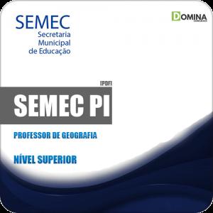 Apostila Concurso Público SEMEC PI 2019 Professor de Geografia