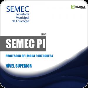 Apostila Concurso SEMEC PI 2019 Professor Língua Portuguesa