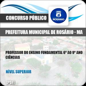 Apostila Pref Rosário MA 2019 Professor 6º ao 9º Ano Ciências
