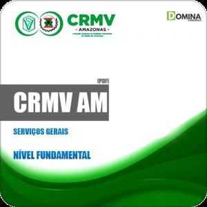 Apostila Concurso Público CRMV AM 2020 Serviços Gerais