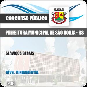 Apostila Concurso Público Pref São Borja RS 2019 Serviços Gerais