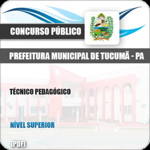 Apostila Concurso Pref Tucumã PA 2019 Técnico Pedagógico