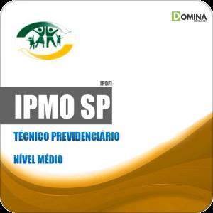 Apostila Concurso IPMO Ourinhos SP 2019 Técnico Previdenciário