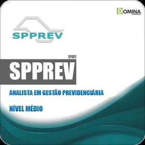 Apostila SPPREV 2019 Técnico em Gestão Previdenciária