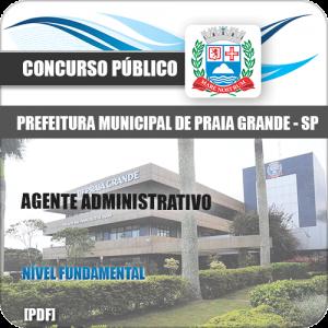 Apostila Pref Praia Grande SP 2020 Agente Administrativo
