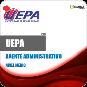 Apostila Concurso Público UEPA 2020 Agente Administrativo