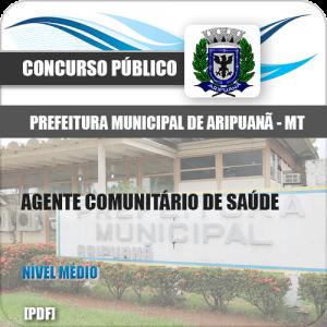 Apostila Pref de Aripuanã MT 2020 Agente Comunitário Saúde