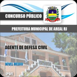 Apostila Concurso Pref Areal RJ 2020 Agente de Defesa Civil
