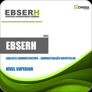 Apostila Concurso EBSERH 2020 Analista Administração Hospitalar