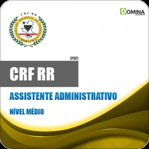 Apostila Concurso Público CRF RR 2020 Assistente Administrativo