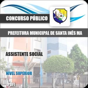 Apostila Concurso Pref de Santa Inês MA 2020 Assistente Social