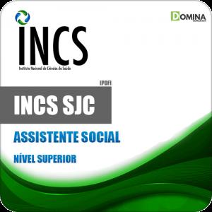 Apostila Processo Seletivo INCS SJC SP 2019 Assistente Social