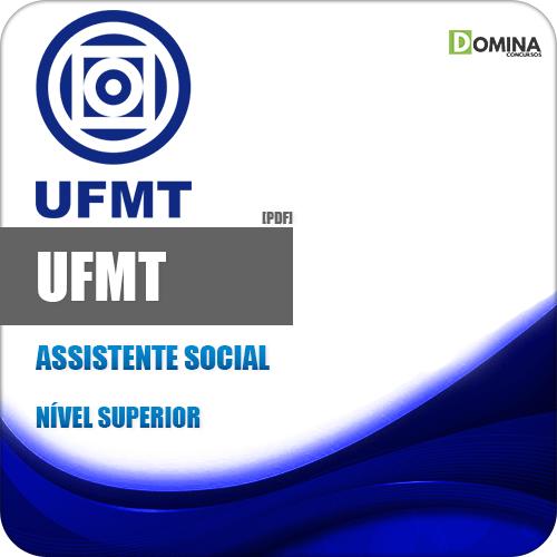 Apostila Concurso Público UFMT 2020 Assistente Social