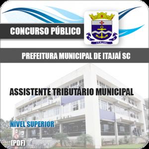 Apostila Pref Itajaí SC 2020 Assistente Tributário Municipal