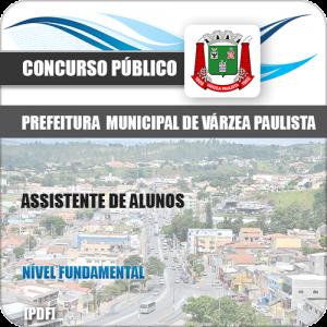 Apostila Pref de Várzea Paulista SP 2020 Assistente de Alunos