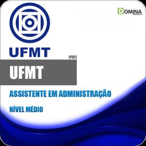 Apostila Concurso UFMT 2020 Assistente em Administração