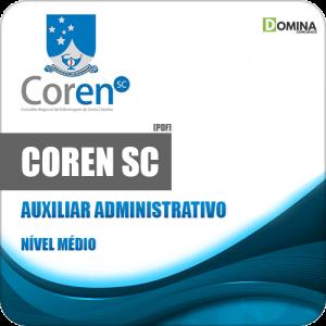 Apostila Concurso Público COREN SC 2020 Auxiliar Administrativo