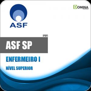 Apostila Processo Seletivo ASF SP 2019 Enfermeiro I