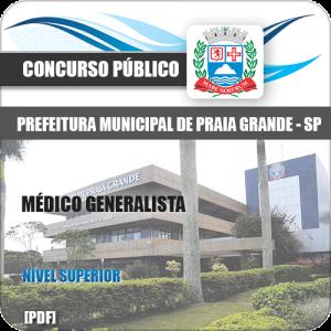 Apostila Concurso Pref Praia Grande SP 2020 Médico Generalista