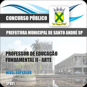 Apostila Pref de Santo André SP 2020 Professor II Arte