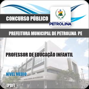 Apostila Pref de Petrolina PE 2019 Professor de Educação Infantil