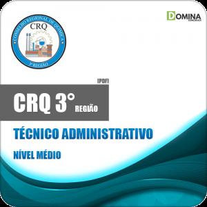 Apostila Concurso CRQ 3 Região 2020 Técnico Administrativo