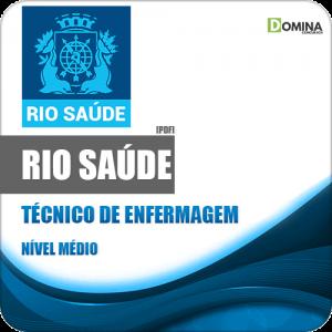 Apostila Concurso RioSaúde RJ 2020 Técnico de Enfermagem