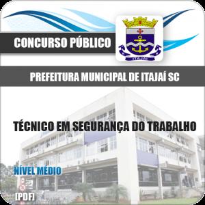 Apostila Pref Itajaí SC 2020 Técnico em Segurança do Trabalho