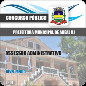Apostila Concurso Pref Areal RJ 2020 Assessor Administrativo