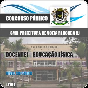 Apostila SMA Volta Redonda RJ 2019 Docente I Educação Física