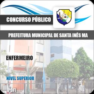 Apostila Concurso Pref de Santa Inês MA 2020 Enfermeiro