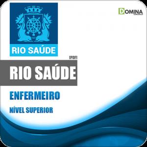 Apostila Concurso Público RioSaúde RJ 2020 Enfermeiro