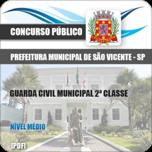 Apostila Pref São Vicente SP 2020 Guarda Civil 2ª Classe