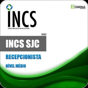 Apostila Processo Seletivo INCS SJC SP 2019 Recepcionista