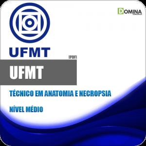Apostila Concurso UFMT 2020 Técnico Anatomia e Necropsia