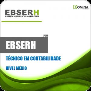 Apostila Concurso Público EBSERH 2020 Técnico em Contabilidade