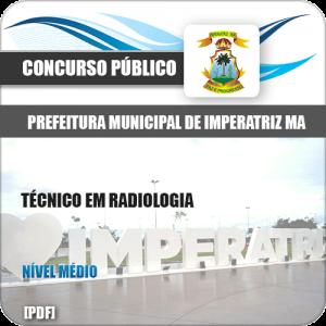 Apostila Concurso Pref Imperatriz MA 2020 Técnico em Radiologia