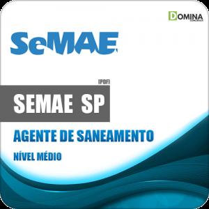 Apostila SEMAE Rio Preto SP 2020 Agente de Saneamento