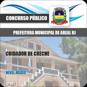 Apostila Concurso Pref Areal RJ 2020 Cuidador de Creche