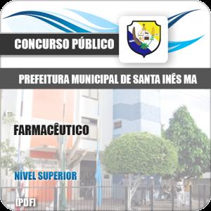 Apostila Concurso Pref de Santa Inês MA 2020 Farmacêutico