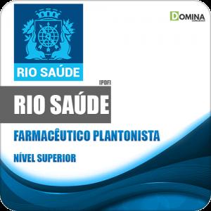 Apostila Concurso RioSaúde RJ 2020 Farmacêutico Plantonista
