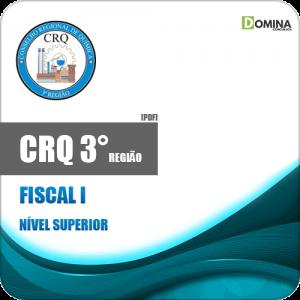 Apostila Concurso Público CRQ 3 Região 2020 Fiscal I