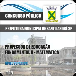 Apostila Pref de Santo André SP 2020 Professor II Matemática