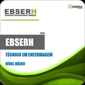 Apostila Concurso Público EBSERH 2020 Técnico em Enfermagem
