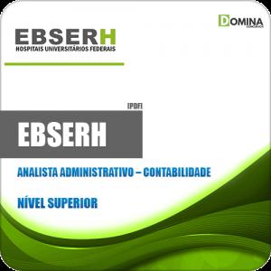 Apostila EBSERH 2020 Analista Administrativo Contabilidade