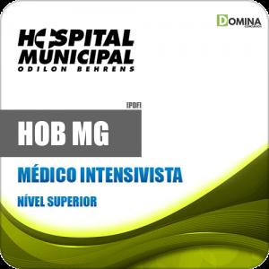 Apostila Concurso Público HOB MG 2020 Médico Intensivista