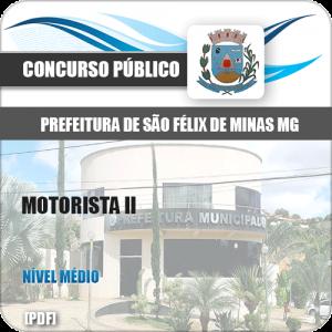 Apostila Concurso Pref São Félix Minas MG 2020 Motorista II