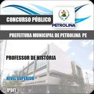 Apostila Pref de Petrolina PE 2019 Professor de História